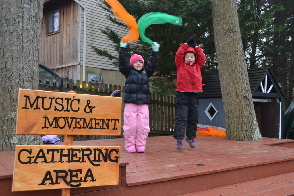 Best Beginning Music & Movement and Gathering Area