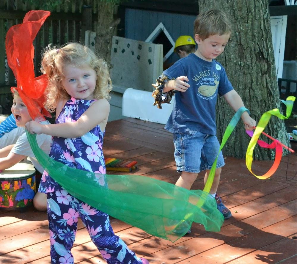 Music and movement fun!